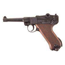 Plynová pištoľ Cuno Melcher P08, čierna, kal. 9 mm