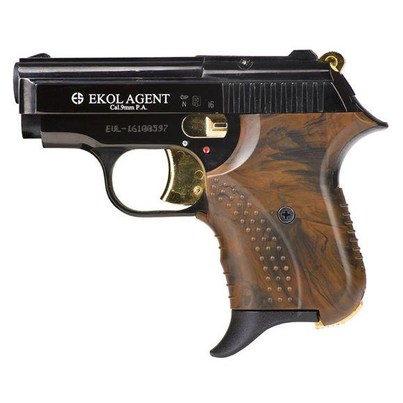 Plynová pištoľ Ekol Agent kombinácia čierna, kal. 9 mm
