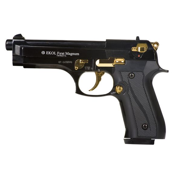 Plynová pištoľ Ekol Firat 92, kombinácia, kal. 9 mm