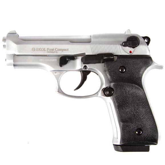 Plynová pištoľ Ekol Firat Compact, nikel, kal.9 mm