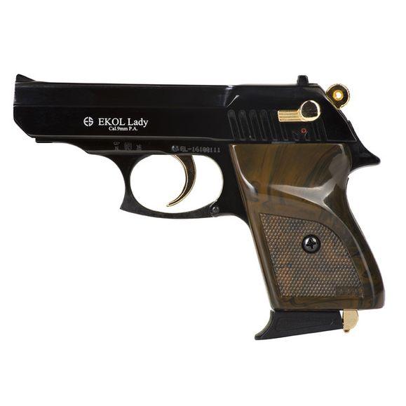 Plynová pištoľ Ekol Lady kombinácia čierna, kal. 9 mm