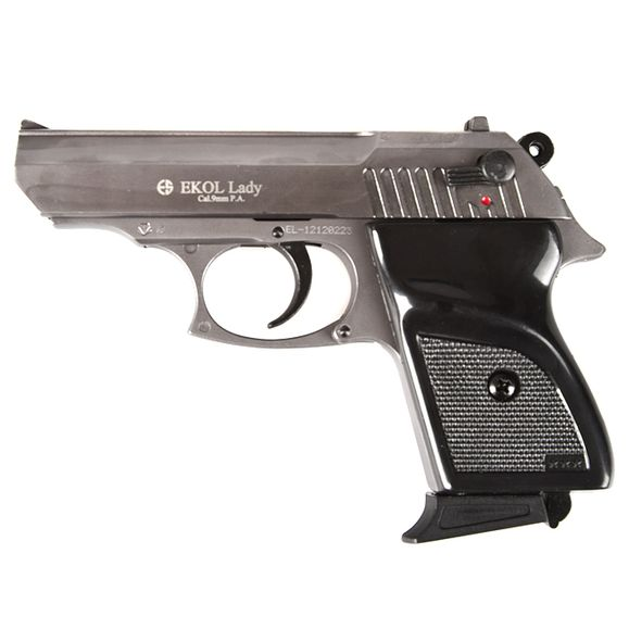 Plynová pištoľ Ekol Lady, titan, kal. 9 mm, Knall