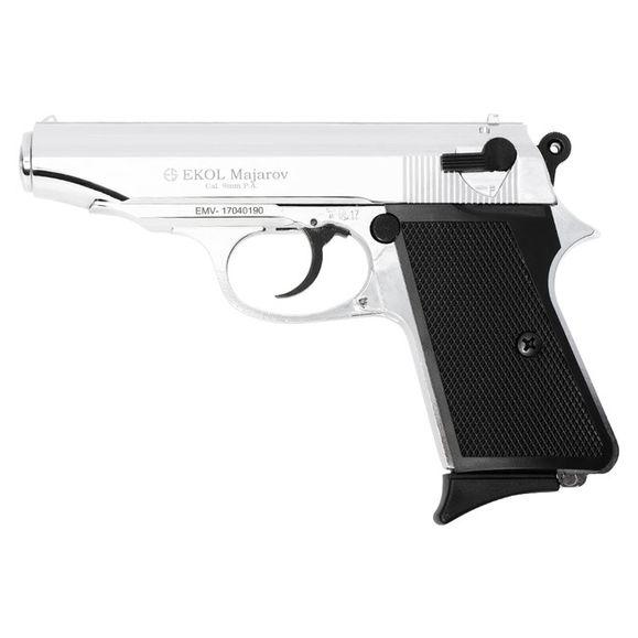 Plynová pištoľ Ekol Majarov, kal. 9 mm, lesklý chróm