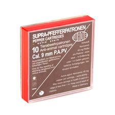Plynové náboje OC pištoľ Wadie 9 mm, 45 mg