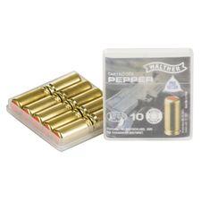Plynové náboje PV-S 9 mm pištoľ, 10 ks Supra Pepper Walther