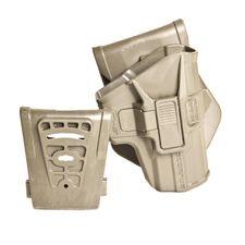 Polymérové puzdro Scorpus pre Glock 9 mm (pádlo + opasková redukcia) SC-MAKRB zelené