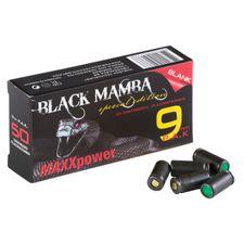 Poplašné náboje Black Mamba 9 mm P.A.K. 50 ks