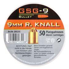 Poplašné náboje GSG-9 R kal. 9 mm /50 ks