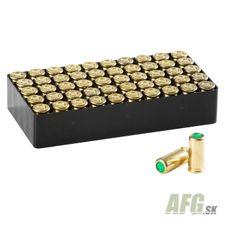 Poplašné náboje Maxx Tech 9 mm P.A.K., 50 ks