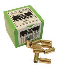 Poplašné náboje pištoľ Sellier & Bellot 9 mm, 50 ks