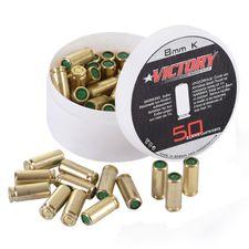 Poplašné náboje pištoľ Victory 8 mm, 50 ks