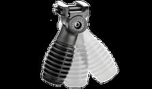 Predná stranovo nastaviteľná taktická rukoväť T-FS, čierna
