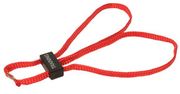 Putá textilné, cvičné, červené HT-01-T