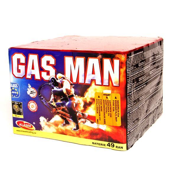 Pyrotechnika Gas Man 49 rán