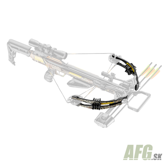 Ramena Ek Archery pre kušu Accelerator 370 camo 185 Lbs