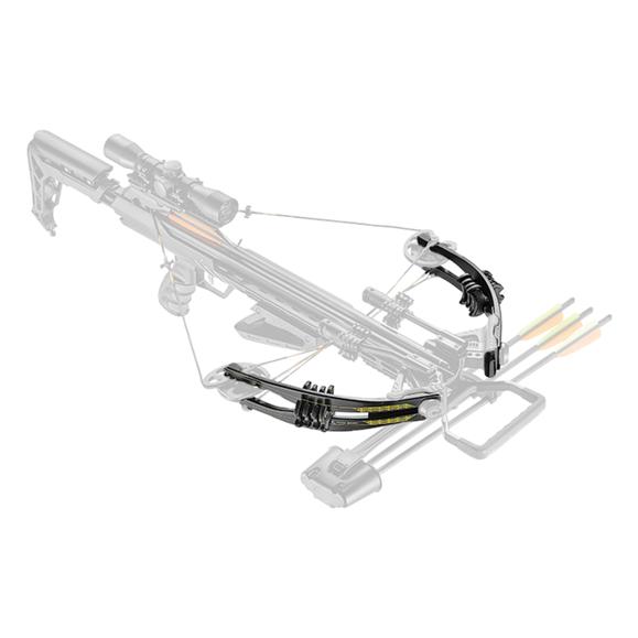 Ramena Ek Archery pre kušu Accelerator 370 čierne 185 Lbs