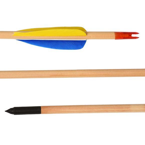 """Šíp drevený, lovecký 30"""" Ek Archery, 1 ks"""