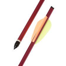 """Šíp duralový 16"""" HalfMoon Ek Archery, červený 1 ks"""