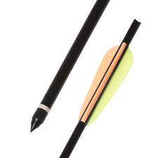 "Šíp duralový 18"" HalfMoon Ek Archery, čierny 1 ks"