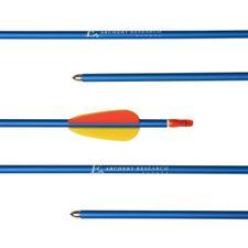 """Šíp duralový 29"""" terčový, modrý Ek Archery, 1 ks"""