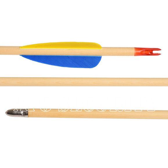 """Šíp drevený 27"""" terčový Ek Archery, 1 ks"""