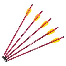 """Šípy do kuše HalfMoon Ek Archery 16""""sada 5 ks"""