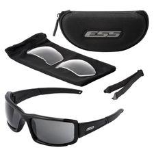 Strelecké okuliare ESS CDI MAX, čierny rám