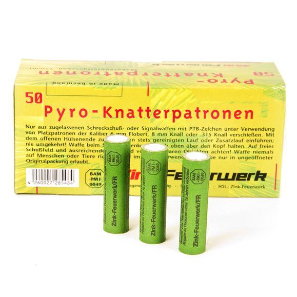 Svetlice Pyro signálne Zink Knatterpatronen