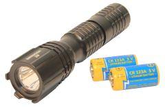Taktické svietidlo Barracuda 3 Led s čipom cree