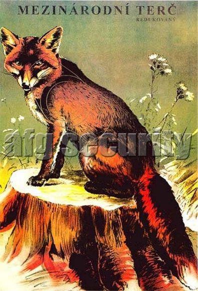 Terč lovecký EU Líška