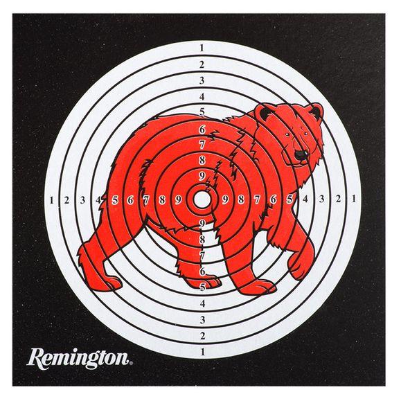 Terč vzduchovka Medveď, balenie 50 ks, 14 x 14 cm