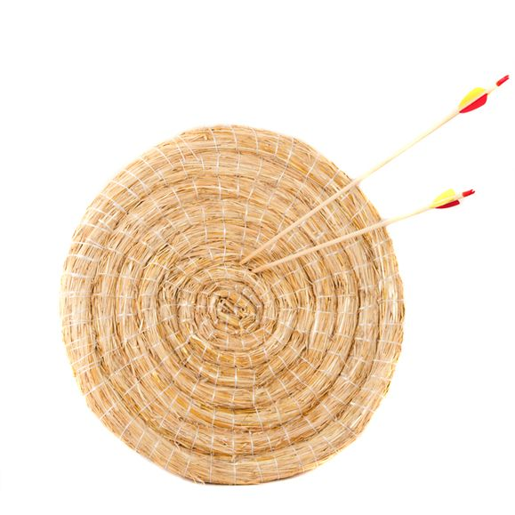 Terčovnica okrúhla, slamená 65 cm