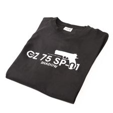 Tričko CZ 75 SP-01, farba čierna XL