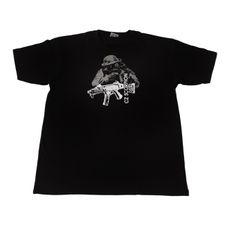 Tričko CZ Scorpion, farba čierna XL