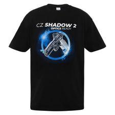 Tričko CZ Shadow farba čierna L