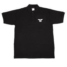Tričko Heavy AFG orlica polokošeľa , farba čierna