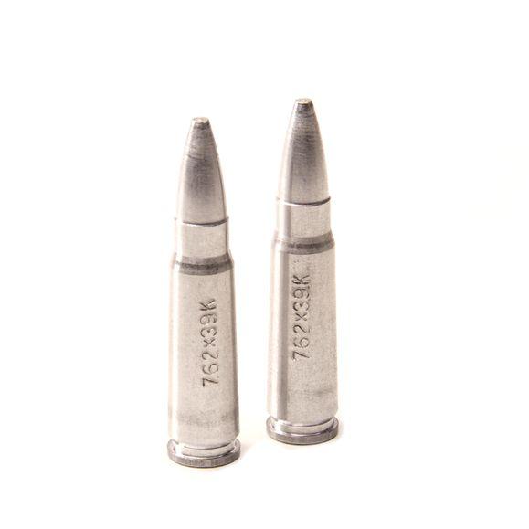 Vybíjacie hliníkové náboje 40R/2, blister, kal.7,62 x 39