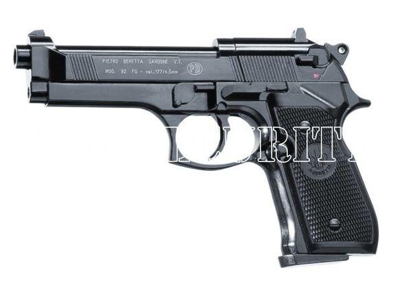 Vzduchová pištoľ Umarex Beretta M92 FS čierna, kal. 4,5 mm