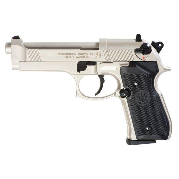 Vzduchová pištoľ Umarex Beretta M92 FS nikel, kal. 4,5 mm