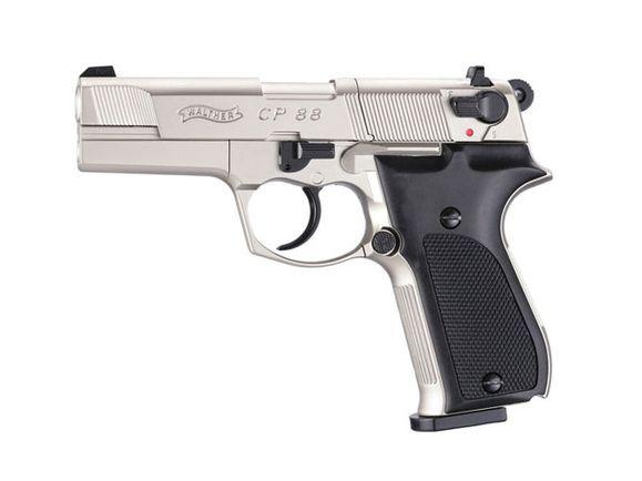 Vzduchová pištoľ Umarex Walther CP88 nikel, kal. 4,5 mm
