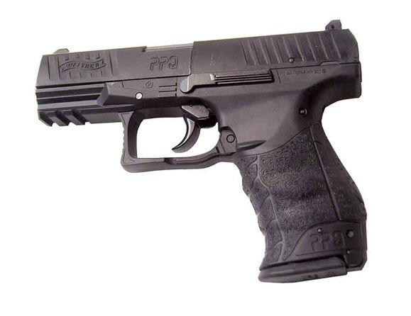 Vzduchová pištoľ Umarex Walther PPQ, čierna