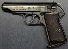 Znehodnotená pištoľ Fég Valam 48 kal. 9 mm Browning
