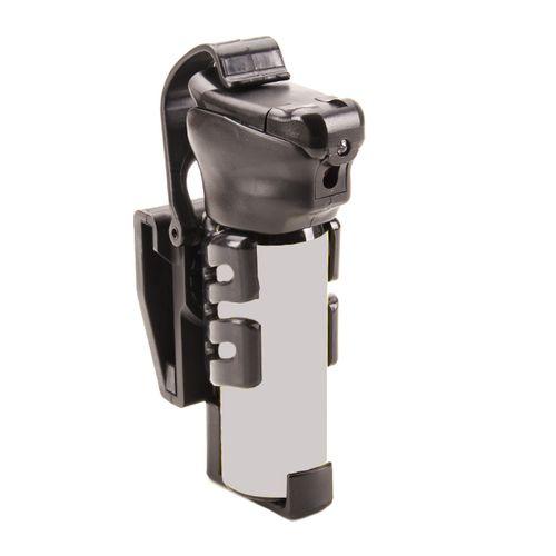 Rotačné plastové puzdro pre obranný sprej TORNADO 50-63 ml SHT-34