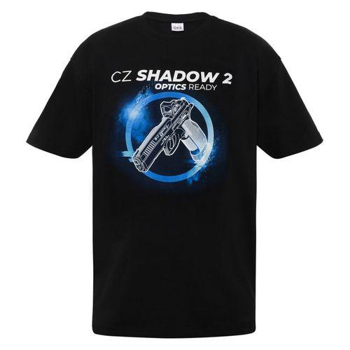 Tričko CZ Shadow, farba čierna L